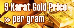 9 Carat Gold Price Per Gram