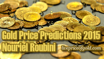 Gold Price Predictions 2015