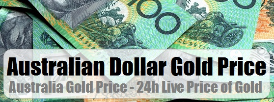 Gold Prices In Australian Dollars Aud