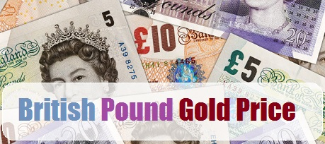 british pound gold price