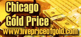 chicago gold price