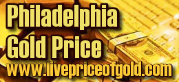 philadelphia's gold prices