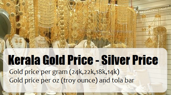 Gold Price In Kerala