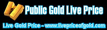 public gold price live