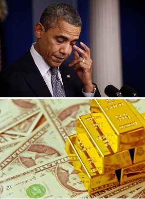 US Government Shutdown's Effect on Gold Price (gaining)